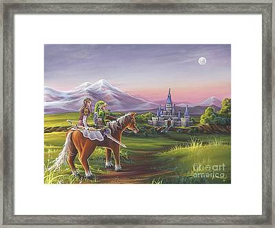 Returning Home Framed Print by Joe Mandrick