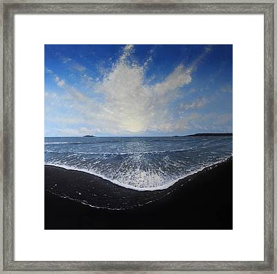 Returning Light Framed Print by Paul Newcastle