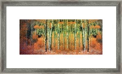 Returning The Lost Autumn Framed Print