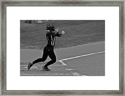 Returning To The Sender Framed Print