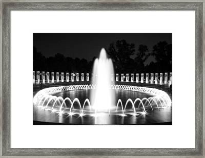 Returns Again Framed Print by Mitch Cat