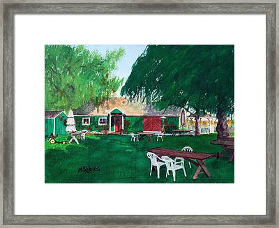 Retzlaff Winery Framed Print