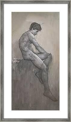 Reuben Framed Print