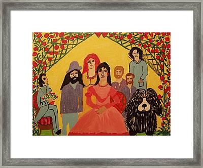 Reunion Framed Print by Betty J Roberts