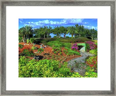 Framed Print featuring the photograph Reunion Resort  by Tom Prendergast