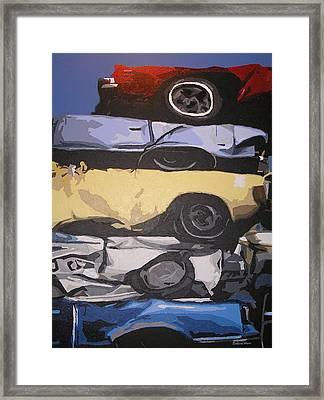 Reunited Framed Print by Ricklene Wren