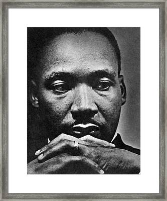 Rev. Martin Luther King Jr. 1929-1968 Framed Print by Everett