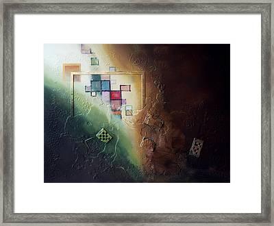 Reveal Framed Print by Farhan Abouassali