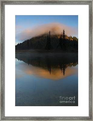 Revealed By The Sun Framed Print by Mike Dawson