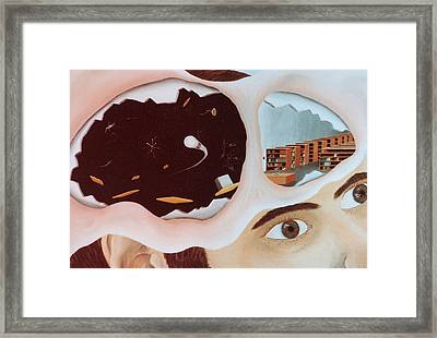 Revealing The Consicous And Subconsicous Framed Print by Steven Welch