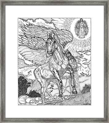 Revelation   Return Of The King Framed Print