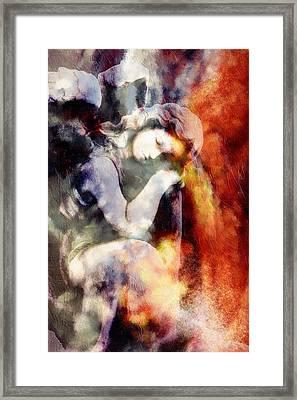 Revelation Abstract Realism  Framed Print by Georgiana Romanovna