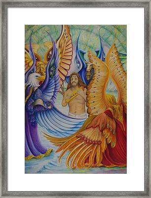 Revelation Five Framed Print
