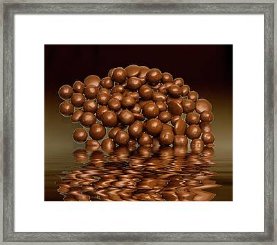 Framed Print featuring the photograph Revels Chocolate Sweets by David French