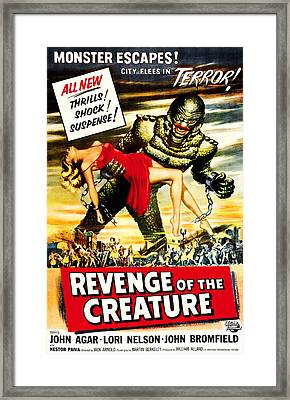 Revenge Of The Creature, 1955 Framed Print