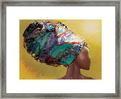 Revenge Of The Headwrap Framed Print