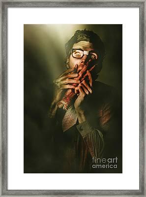 Revenge Of The Nerd Framed Print by Jorgo Photography - Wall Art Gallery