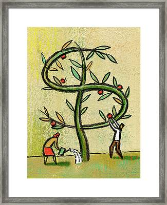 Revenue Framed Print