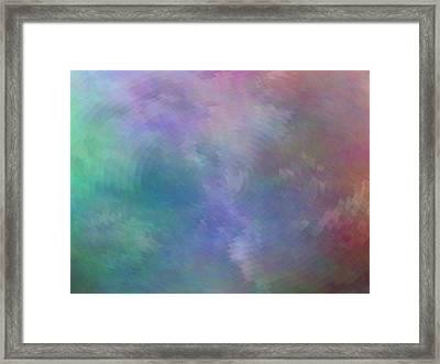 Reverberations Framed Print