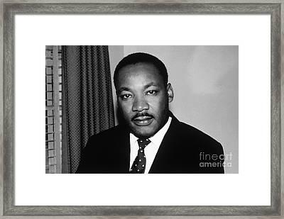 Reverend Dr. Martin Luther King Jr. Framed Print