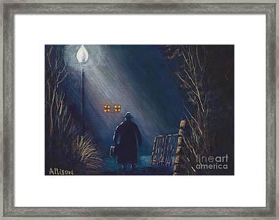 Reverend Hadley Jorgensen Framed Print