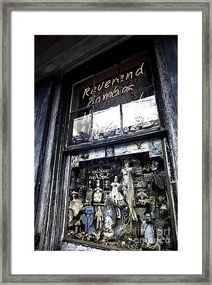 Reverend Zombie's House Of Voodoo Infrared Framed Print