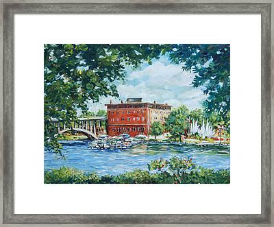 Rever's Marina Framed Print