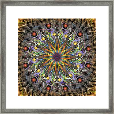 Reverse Cosmosis Framed Print