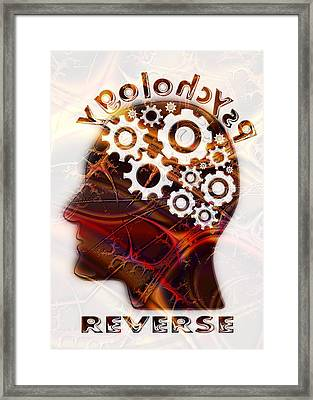 Reverse Psychology Framed Print