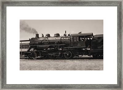 Reverse Throttle Framed Print by Richard Rizzo