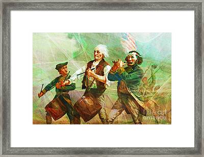 Revisiting The Spirit Of 76 20150704long Framed Print by Wingsdomain Art and Photography