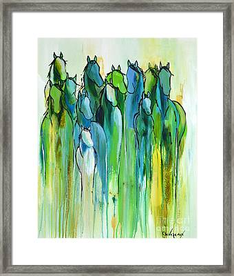 Framed Print featuring the painting Revive by Cher Devereaux