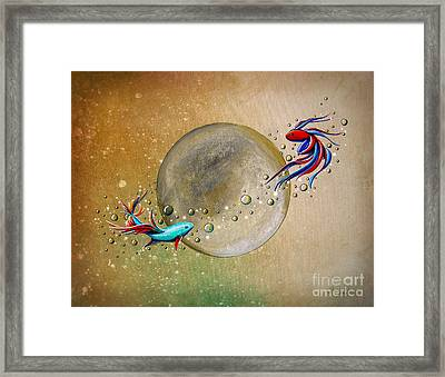 Revolution Framed Print by Cindy Thornton