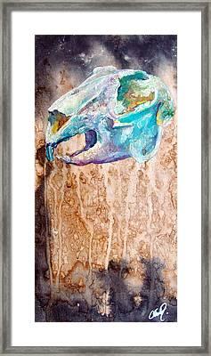 Revolution Jack Rabbit Framed Print by Christy  Freeman