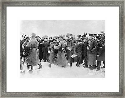 Revolution Of 1917 Framed Print by Granger