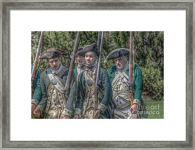 Revolutionary War Soldiers 1 Framed Print by Randy Steele