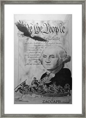 Revolutionary War Framed Print by Zachary  Capodici