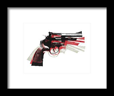 Pistols Framed Prints