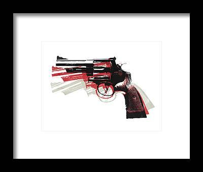 Gun Framed Prints