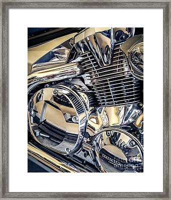 Framed Print featuring the photograph Revved by Todd Blanchard