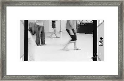 Rewind Framed Print by Heather Kirk