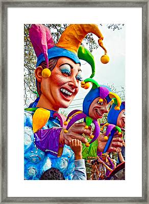 Rex Mardi Gras Parade Xi Framed Print by Steve Harrington