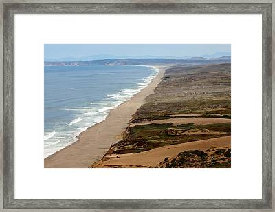 Reyes Point Framed Print