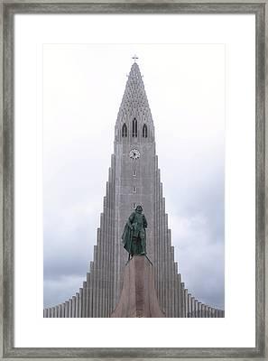 Reykjavik - Iceland Framed Print by Joana Kruse