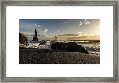 Reynisdrangar Framed Print