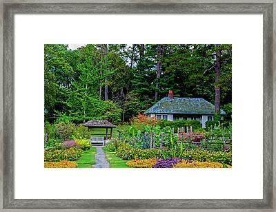 Reynolda Gardens Framed Print