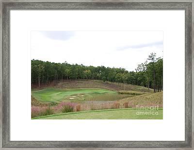 Reynolds Plantation Golf Ga Usa Framed Print by Jan Daniels