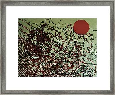 Framed Print featuring the drawing Rfb0200 by Robert F Battles