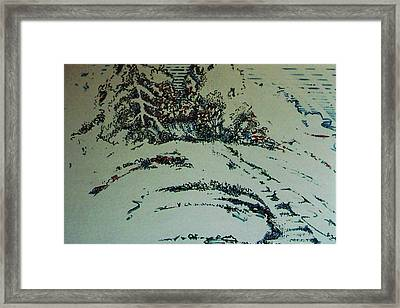 Framed Print featuring the drawing Rfb0201 by Robert F Battles