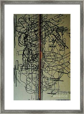 Framed Print featuring the drawing Rfb0203 by Robert F Battles